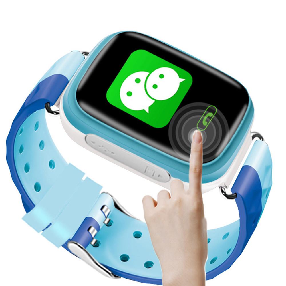 Q80 детские умные часы с GPS (blue)
