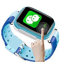 Q80 детские умные часы с GPS (blue), фото 1