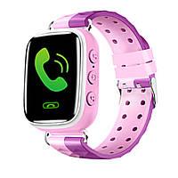 Q80 детские умные часы с GPS (pink)