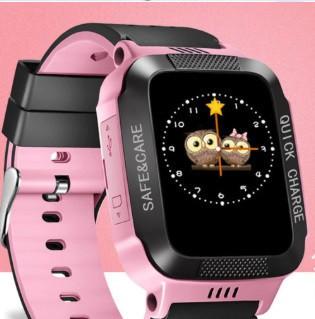 Y21S детские умные часы с GPS (pink)