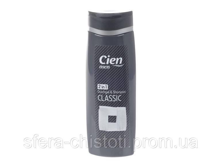 Шампунь-гель для душа 2 в 1 Cien MEN Classic, 300мл