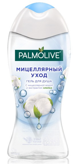 Гель для душа Palmolive Мицеллярный уход Хлопок 250 мл