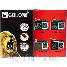 Радиоприемник Golon RX-9933 UAR, фото 3