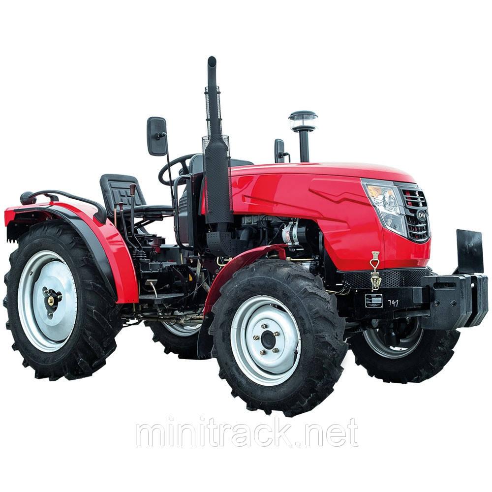 Трактор DW404А, (40 л.с., 4х4, 4 цил., ГУР, 1-е сц., розетка)