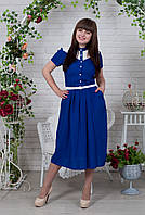 Стильное и модное женское платье из штапеля, размеры 44 - 56, фото 1