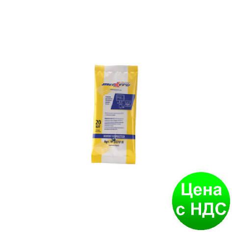 Салфетки для LCD/TFT и плазменных экранов 20шт., в мягкой упаковке 30701, фото 2