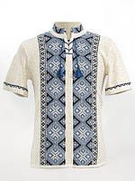Вязанка на лето Назар синий | В'язанка на літо Назар синій
