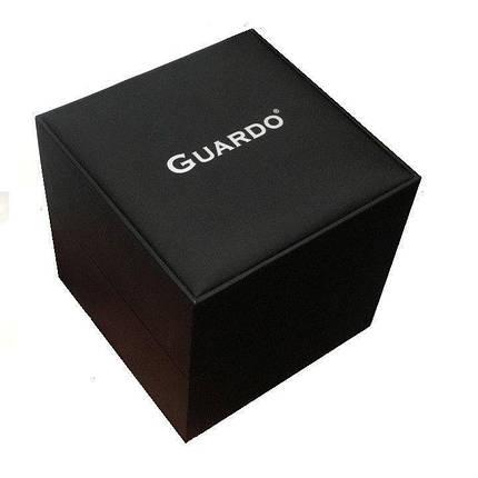 Часы женские Guardo S0578-1 серебряно-черные, фото 2