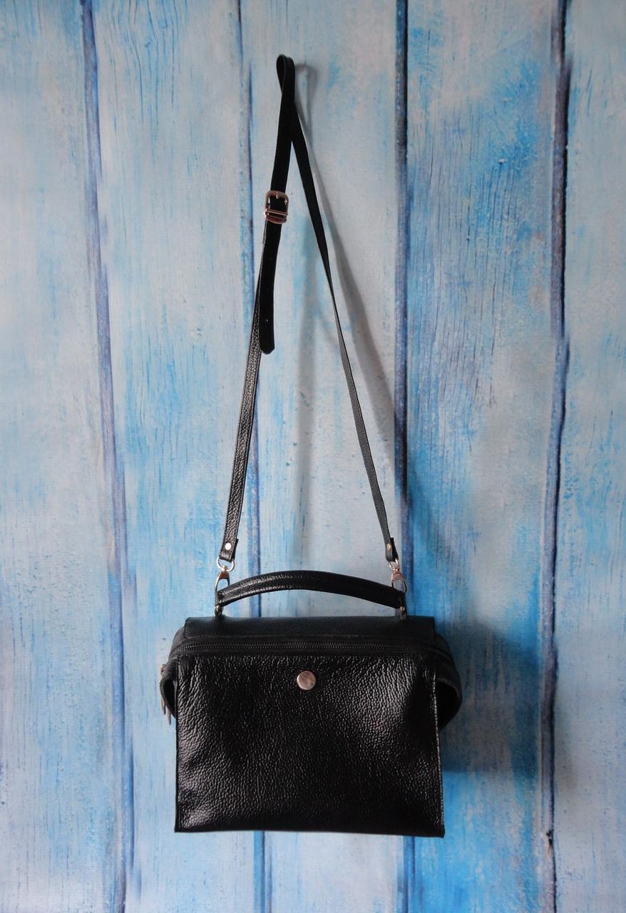 """Женская сумка бочёнок """"Barrel"""" из натуральной кожи"""