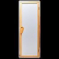 Дверь для бани-бочки под ключ и сауны Tesli UNO Diamant  1900 х 700