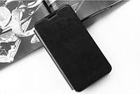 Кожаный чехол книжка MOFI для Lenovo K80 черный, фото 1