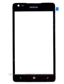 Стекло (Lens) Nokia Lumia 900 black