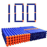 Набор из 100 стрел, мягкие пули, для игрушечного оружия Nerf N-Strike Elite - 143390