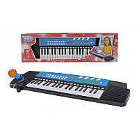 SIMBA TOYS Электросинтезатор с микрофоном, 37 клавиш, 63х18 см, 4