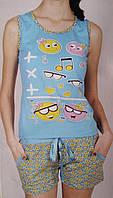 """Женская пижама """"Nicoletta"""" №80388 шорты"""