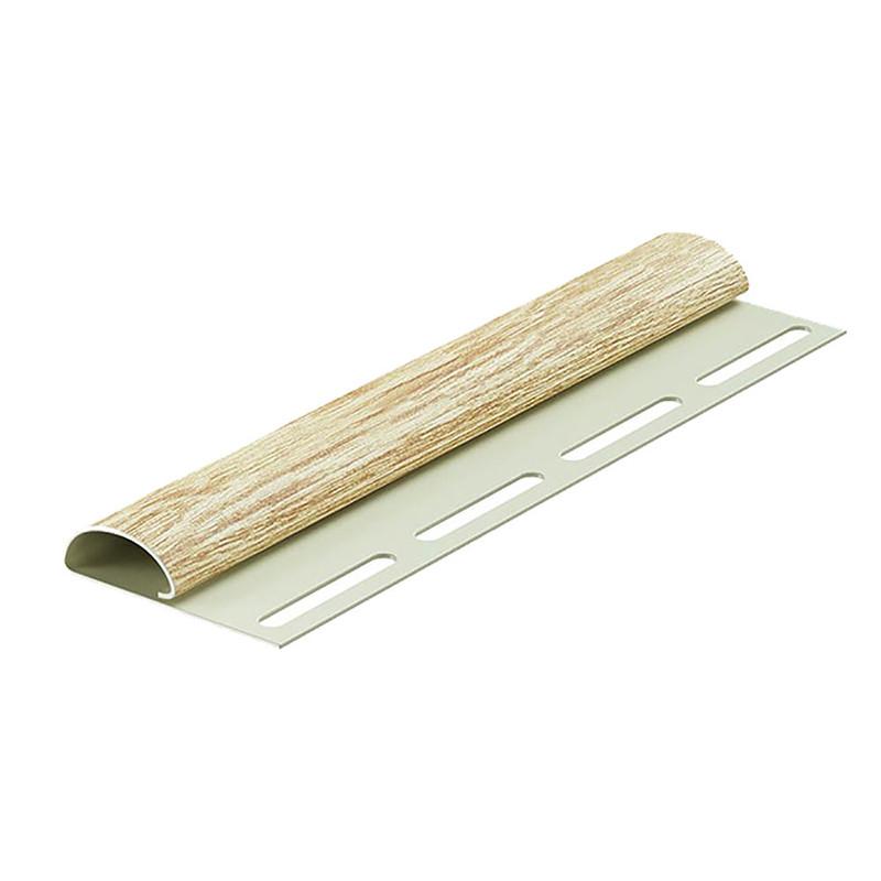 Финишный профиль для сайдинга, 3 м, цвет рябина