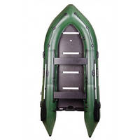 BN-360S Моторная надувная лодка Bark килевая с жестким днищем, четырёхместная