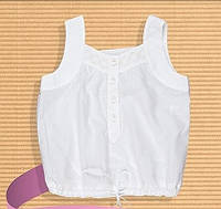 Легкая летняя блуза майка Бемби 122,128см