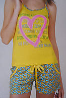 """Женская пижама """"Nicoletta"""" №80424 шорты"""