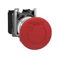 XB4BS8445  Кнопка аварийного останова 22мм с возв. Schneider Electric
