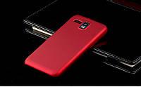 Чехол накладка бампер для Lenovo IdeaPhone A8 Golden Warrior бордовый