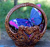 Красивая керамическая конфетница