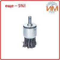 Щётка стальная чашеобразная (для дрели, Ø6мм) Ø30мм Sigma (9028031)