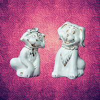 Slav Сeramics Набор фигурок декоративных «Собачки Белла и Бон» mini