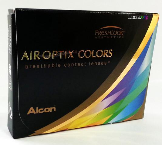 Цветные контактные линзы Air Optix COLORS