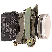 XB4BVB1 Сигнальна лампа22мм 24В біла Schneider Electric