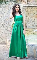 Платье в пол Прелесть из ткани атлас