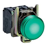 XB4BVB3 Сигнальна лампа22мм 24В зелена Schneider Electric