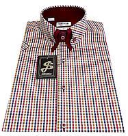Мужская рубашка с коротким рукавом S 5.1 7381-V1 S 44 / (37)