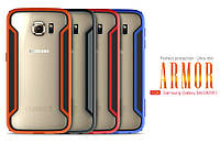 Бампер для Samsung Galaxy S6 G920F - Nillkin Armor-Border series