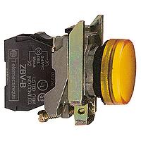 XB4BVB5 Сигнальная лампа22мм 24В желтая Schneider Electric