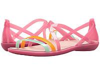Сандалии Crocs Isabella Cut Strappy Pink,  (10145308)