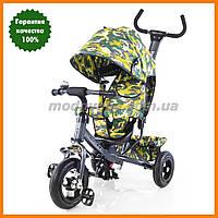 Детский трехколесный велосипед с надувными колесами | TILLY Trike