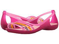 Сандалии Crocs Isabella Huarache Flat Pink,  (10145897)