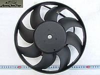 Вентилятор охлаждения радиатора (электродвигатель в сборе с крыльчаткой подшипнике 8-ми лопастной) ВАЗ 2103, 2