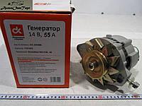 Генератор ВАЗ 2108, 2109, 21099, 55 Ампер, Дорожная Карта (ДК), 372.3701