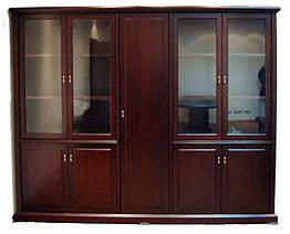 Шкаф YDK 3050 4-d Классика Диал Темный орех Y-52