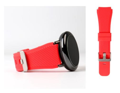 Ремешок SIKAI рифленый для Xiaomi AMAZFIT Pace / Stratos / 22 мм Red (Красный)
