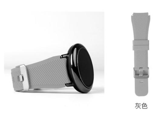 Ремешок SIKAI рифленый для Xiaomi AMAZFIT Pace / Stratos / 22 мм Gray (Серый)