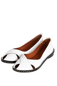 Туфли женские 106P2409 (Белый)