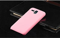 Чехол накладка бампер для Lenovo IdeaPhone A8 Golden Warrior розовый