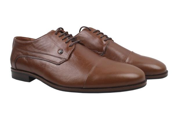 Туфлі Mida натуральна шкіра, колір коричневий