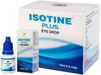 Айсотин Плюс (Isotine Plus) глазные капли 10 мл.