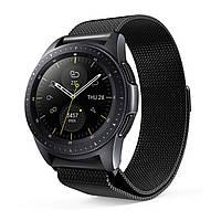 Ремешок BeWatch миланская петля для Samsung Galaxy Watch 42 мм Черный (1010201.3)