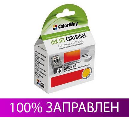 Картридж Canon PG-50, Black, iP 2200, MP 150/160/170/180/450/460, MX 300/310, 22 мл, ColorWay (CW-CPG50), фото 2