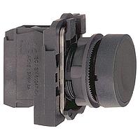XB5AA21  Кнопка 22мм черная с возвратом Schneider Electric